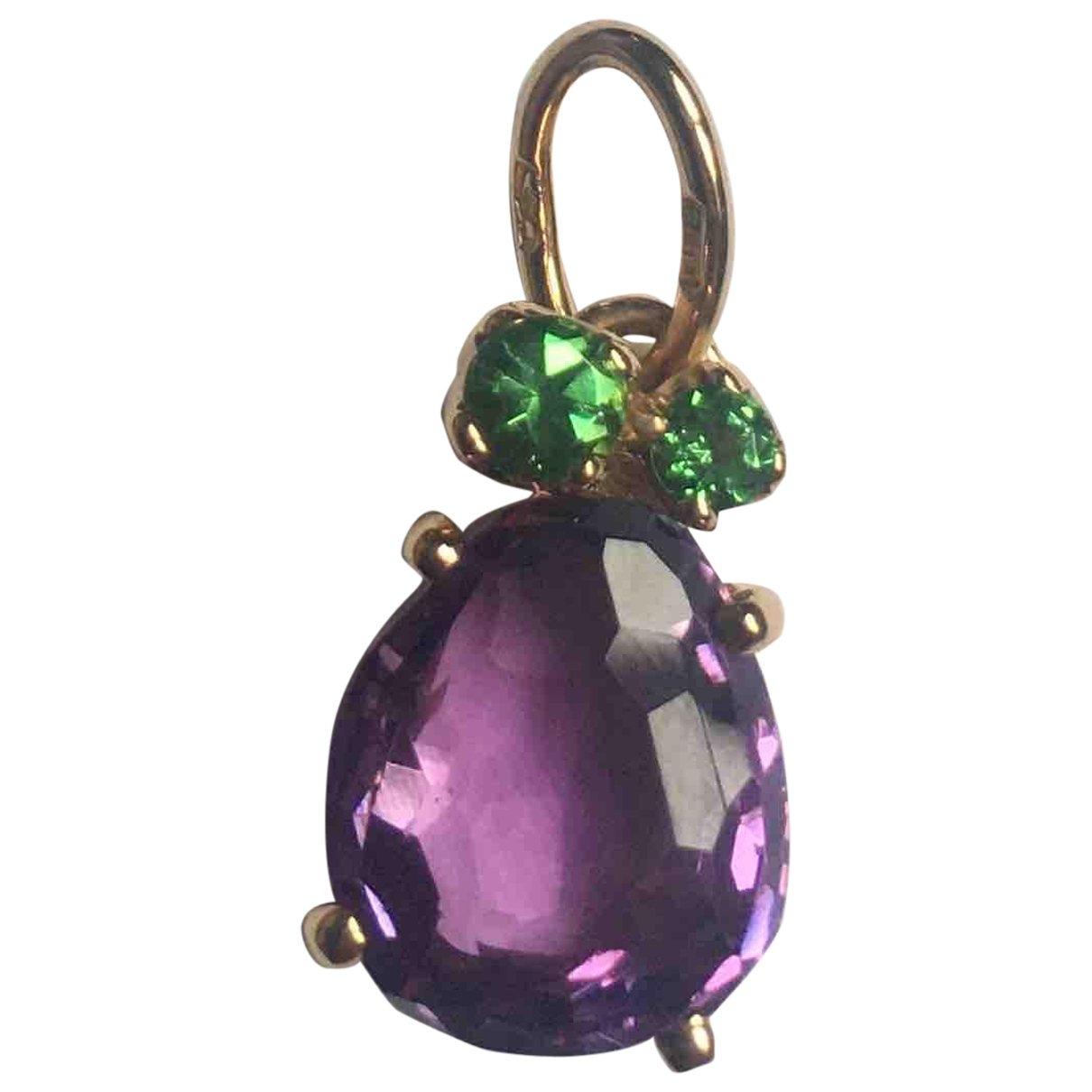 Pomellato Bahia Purple Yellow gold pendant for Women \N
