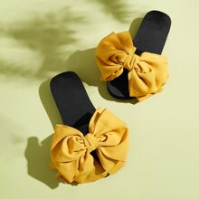 Bow Decor Wide Fit Sliders