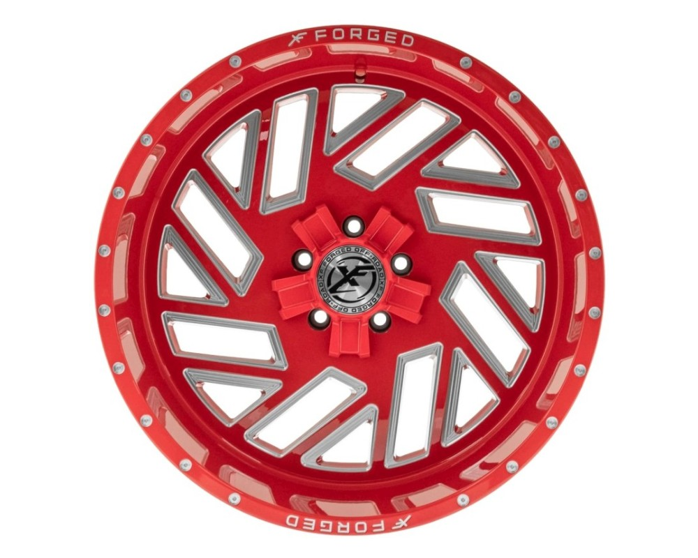 XF Off-Road XFX-304 Wheel 26x14 8x170|8x180 -76mm Red Milled