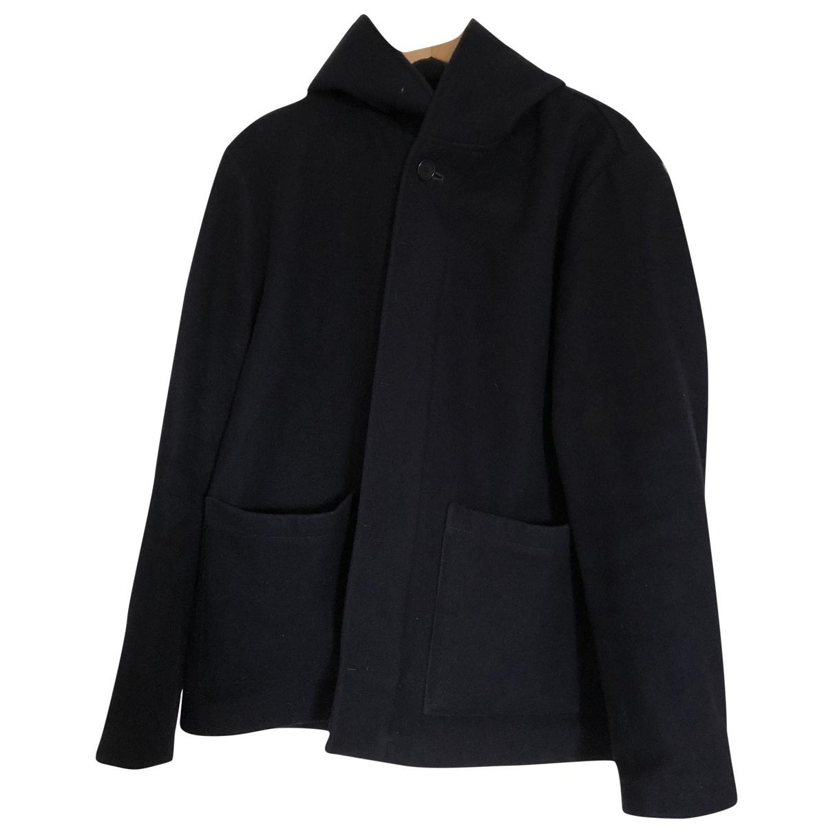 Margaret Howell - Manteau   pour homme en laine - marine