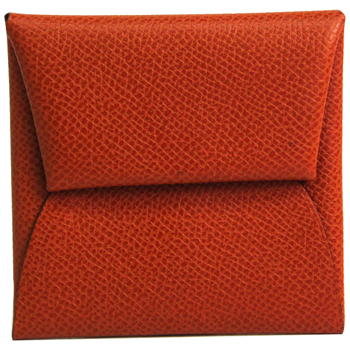 Hermès N Red Leather wallet for Women N