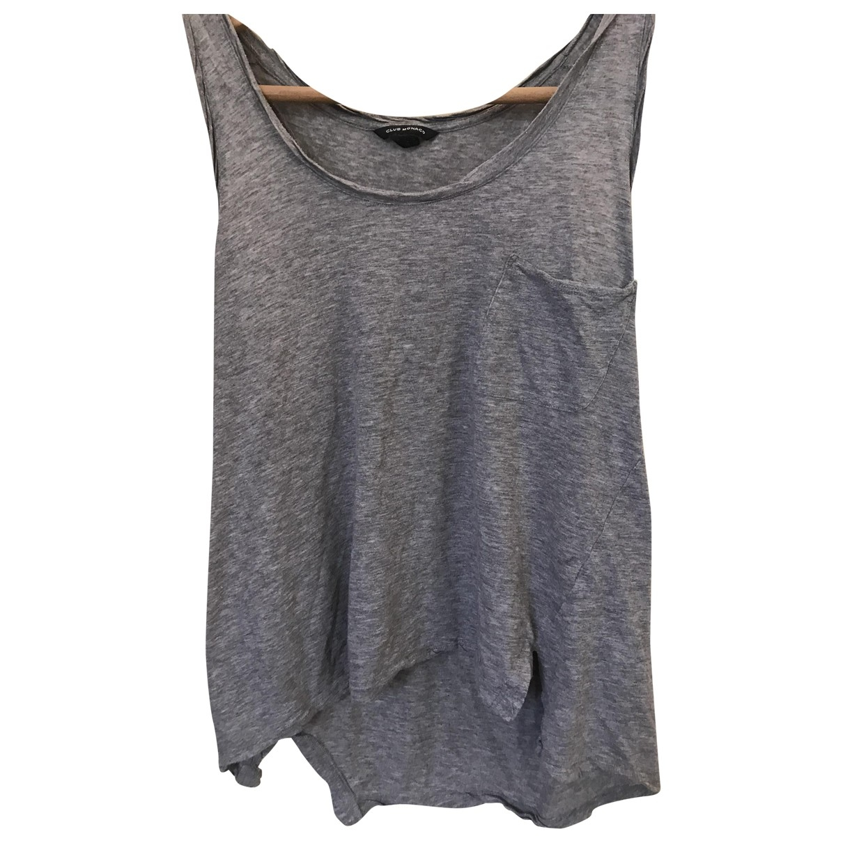 Club Monaco \N Top in  Grau Baumwolle