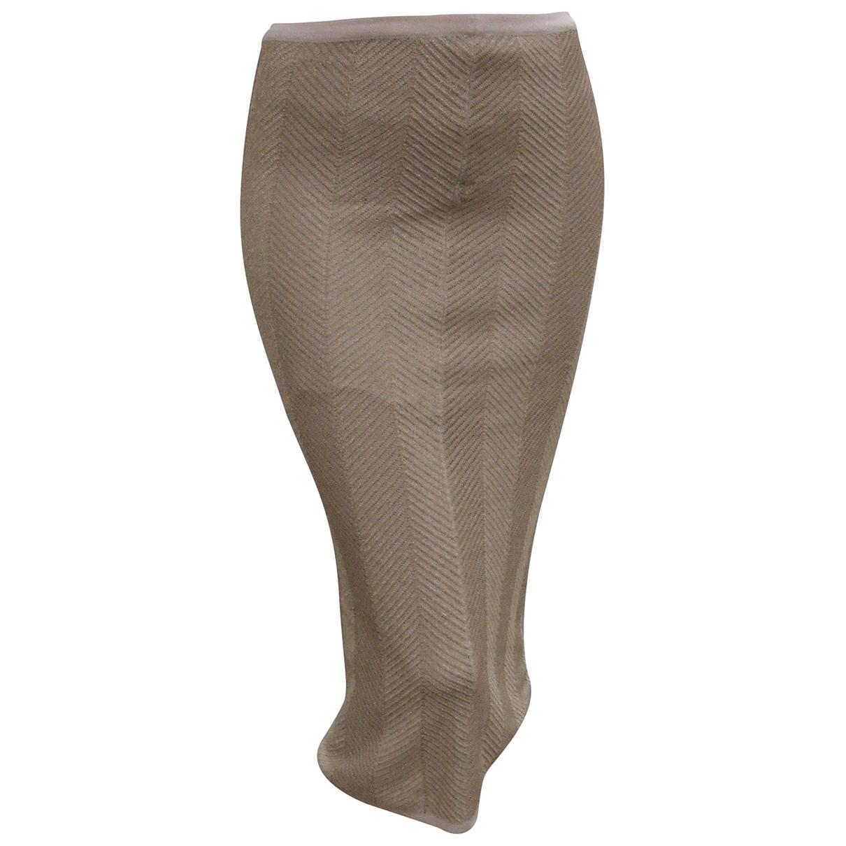 Calvin Klein N Ecru Cotton skirt for Women S International