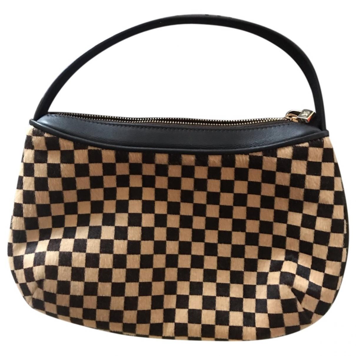 Louis Vuitton \N Handtasche in  Braun Kalbsleder in Pony-Optik