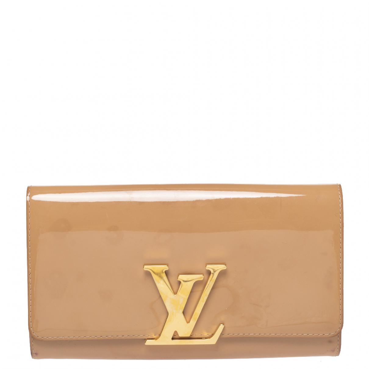 Louis Vuitton N Beige Leather Clutch bag for Women N