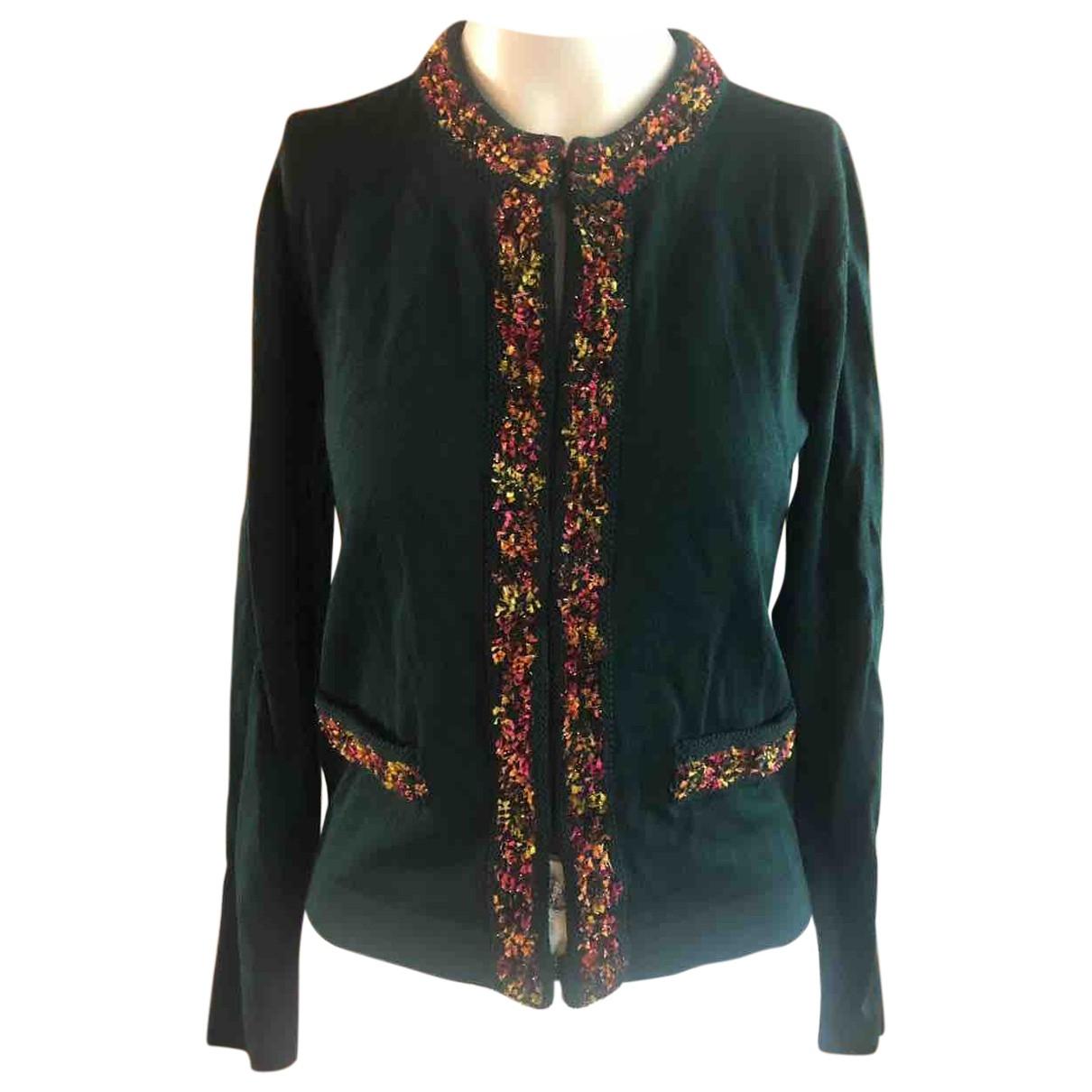 Blumarine \N Green Wool jacket for Women 40 IT
