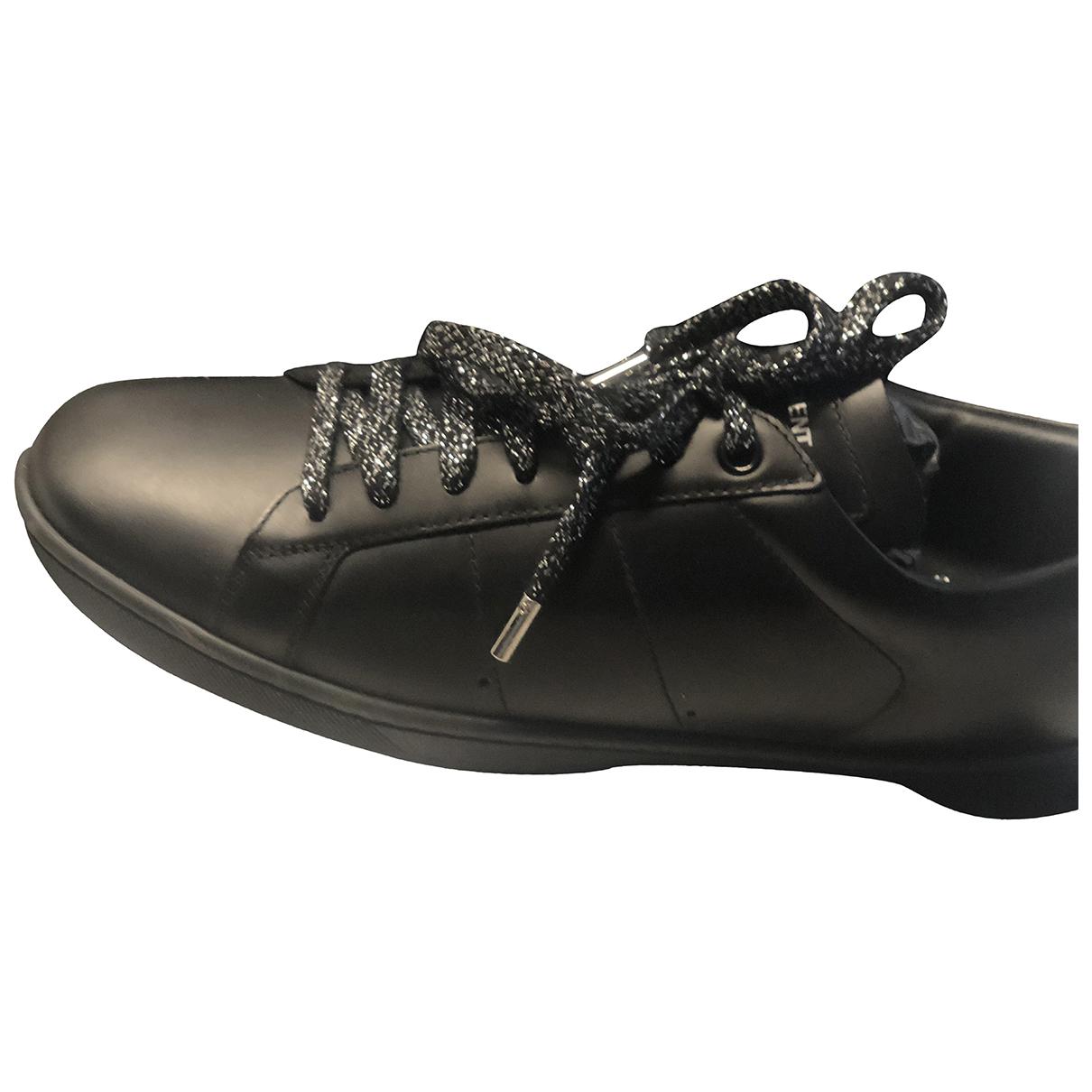 Saint Laurent Andy Sneakers in  Schwarz Kunststoff