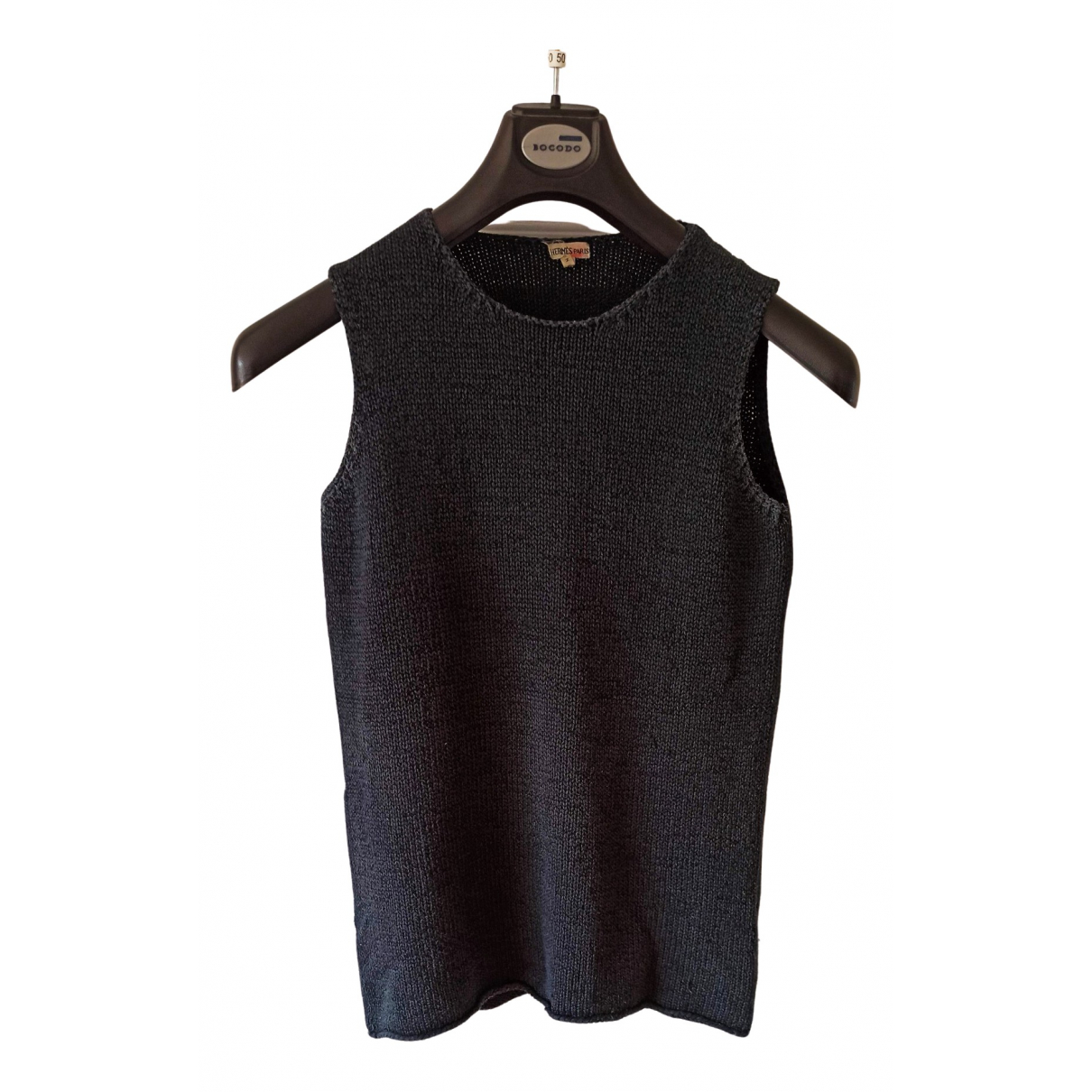 Hermes \N Pullover in  Marine Seide