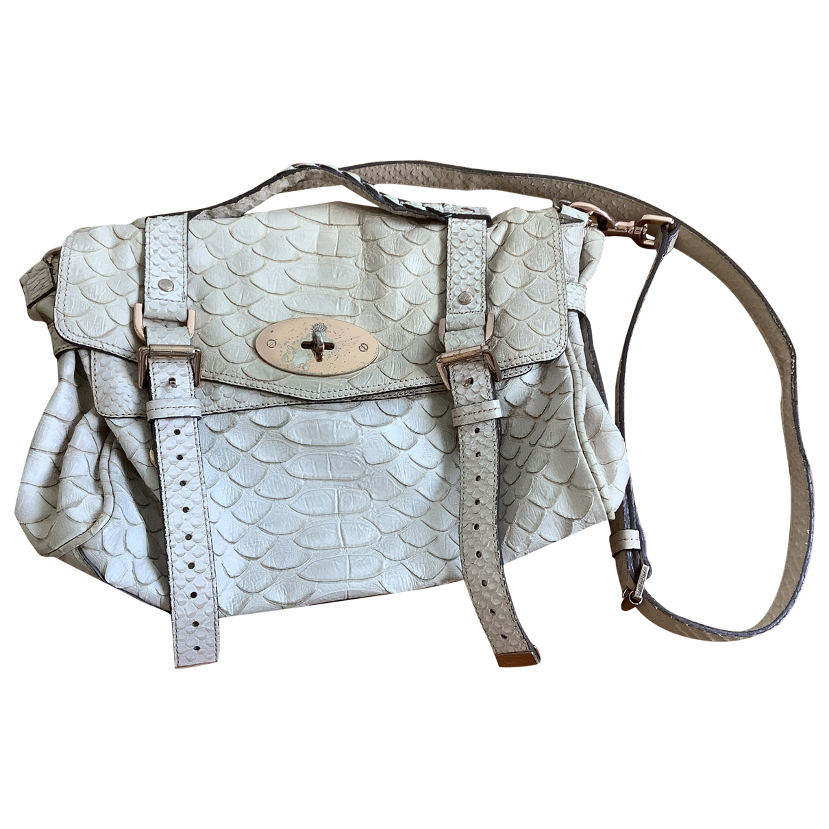 Mulberry Alexa Ecru Leather handbag for Women \N