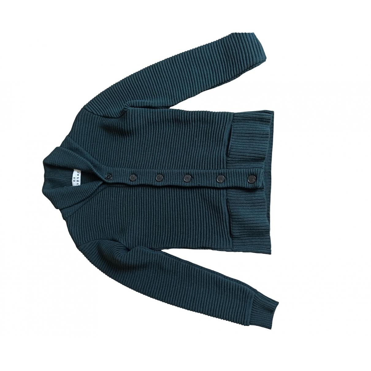 De Fursac - Pulls.Gilets.Sweats   pour homme en laine - vert