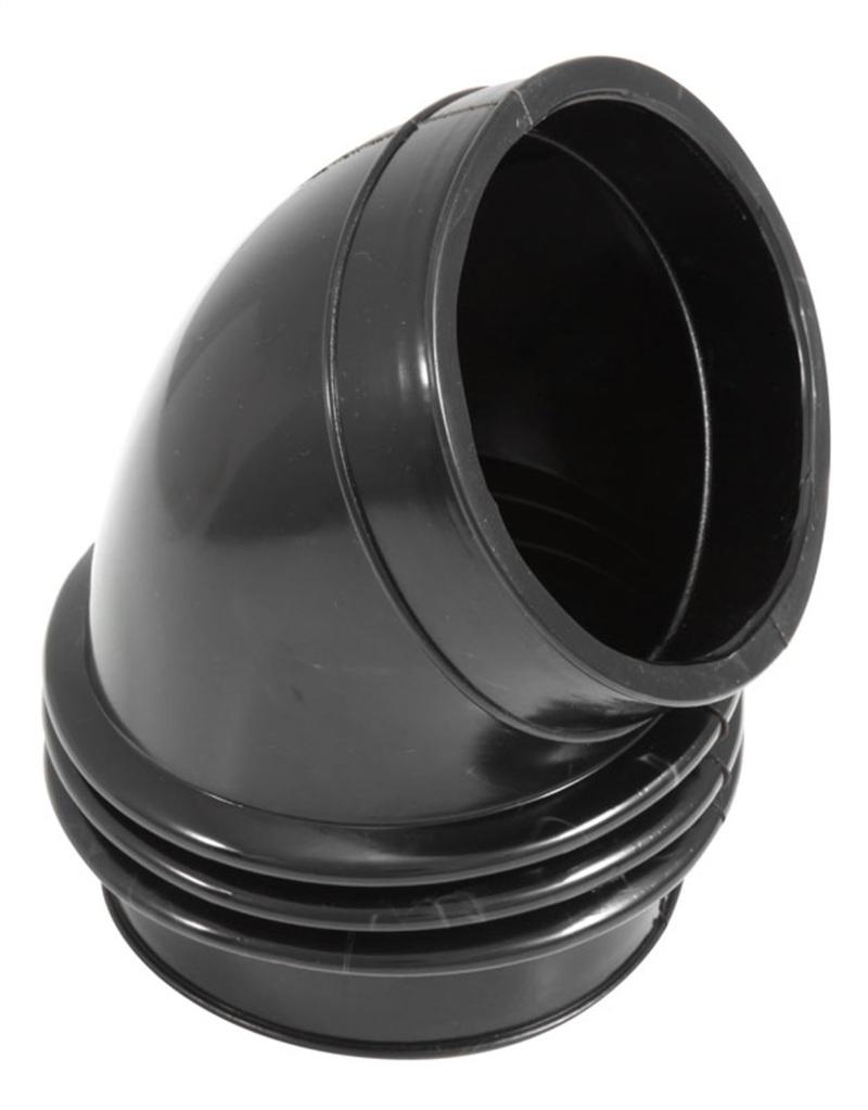 Spectre 9783 Flex Coupler Elbow 4in. ID / 60 Degree - Black