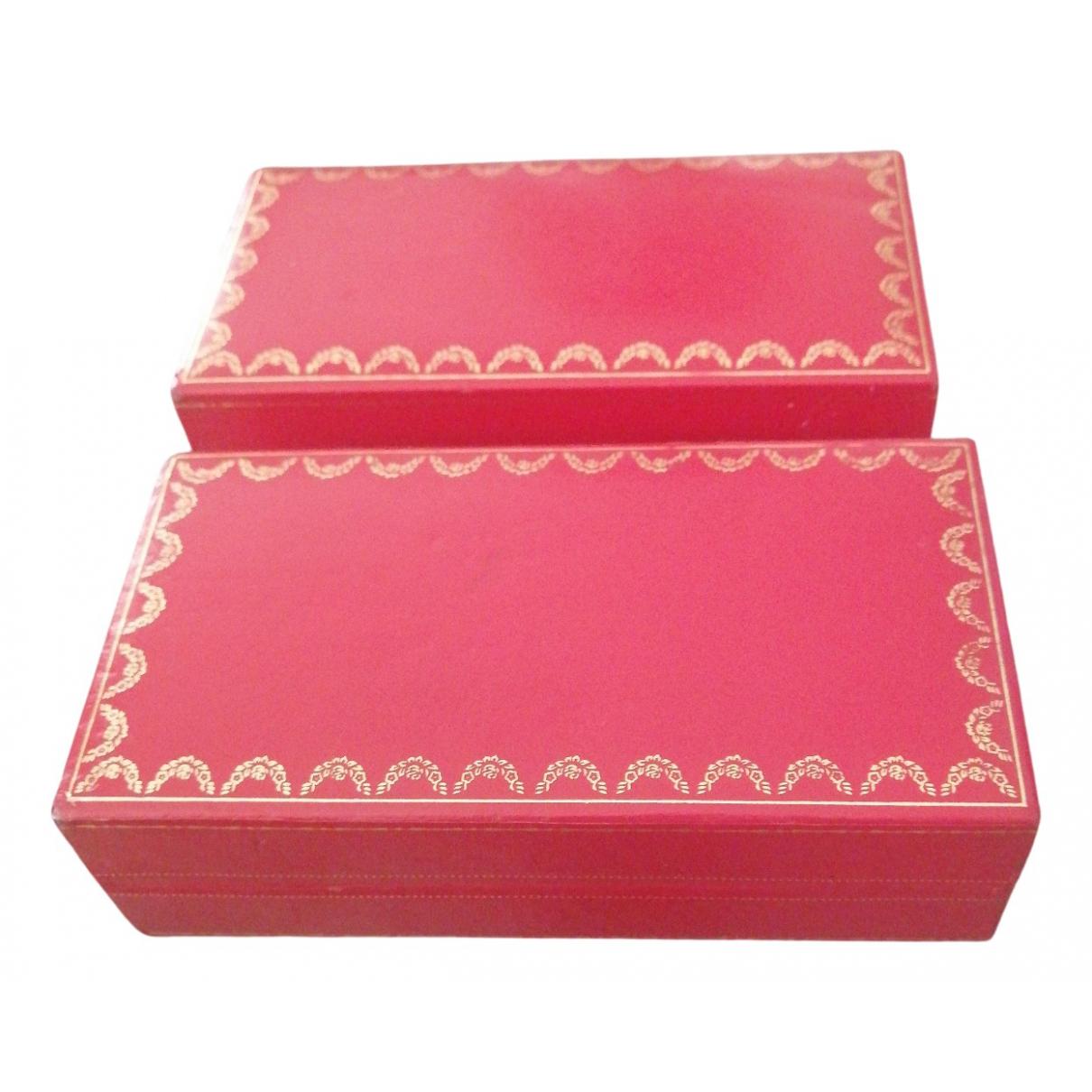 Cartier - Objets & Deco   pour lifestyle en cuir - rose