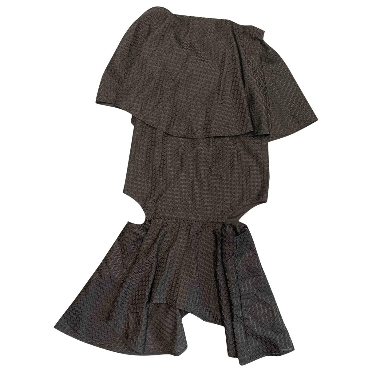 Shona Joy \N Kleid in  Schwarz Polyester