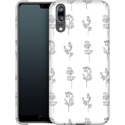 Huawei P20 Smartphone Huelle - Botanic Studies von Lucy Bohr