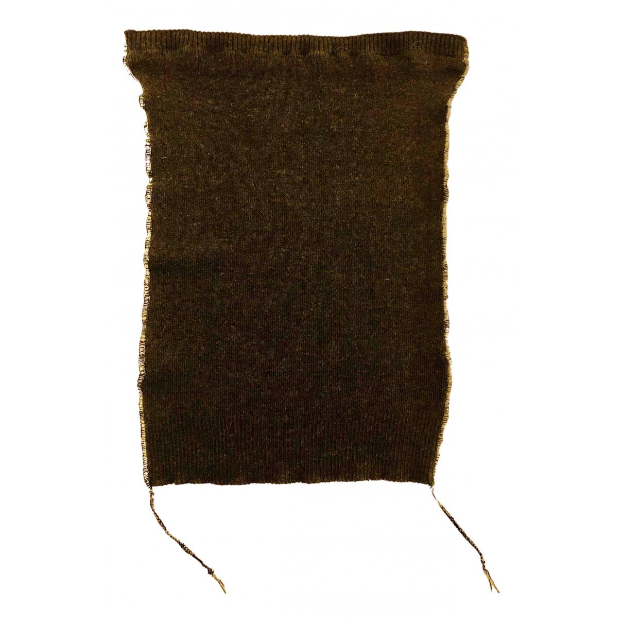 Maison Martin Margiela - Top   pour femme en laine - anthracite