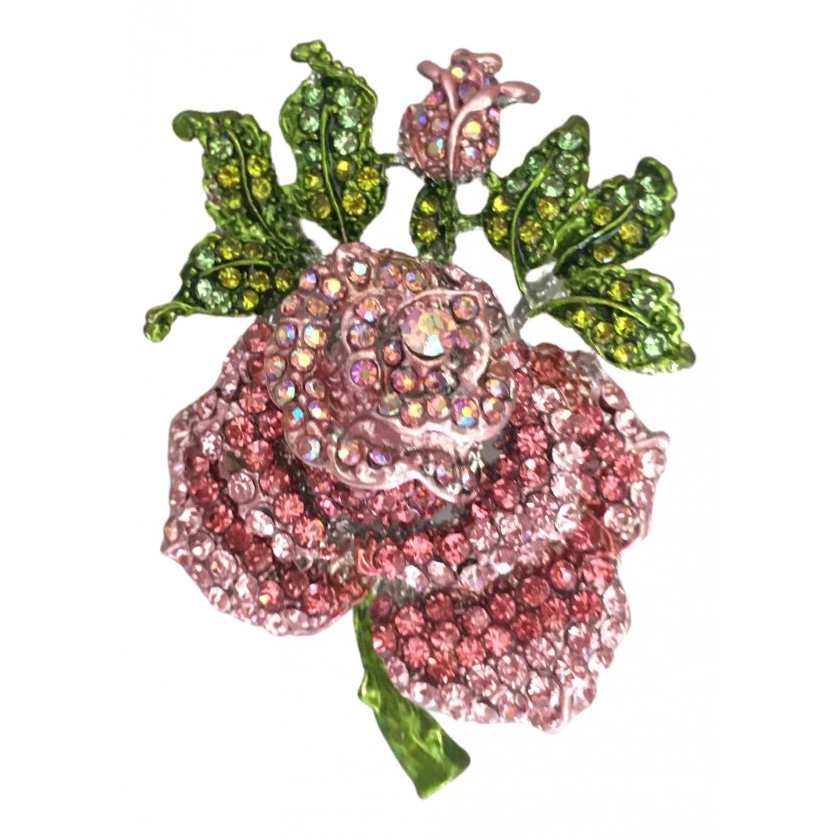 - Broche Motifs Floraux pour femme en metal