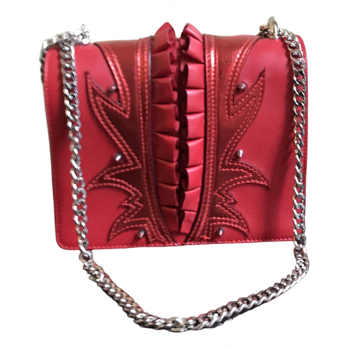 Just Cavalli - Sac a main   pour femme en cuir - rouge