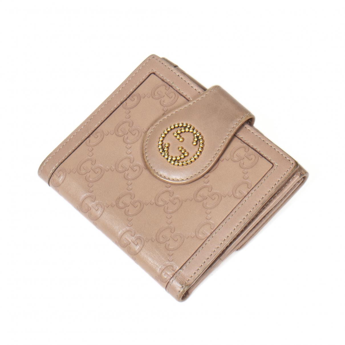 Gucci - Portefeuille   pour femme en cuir