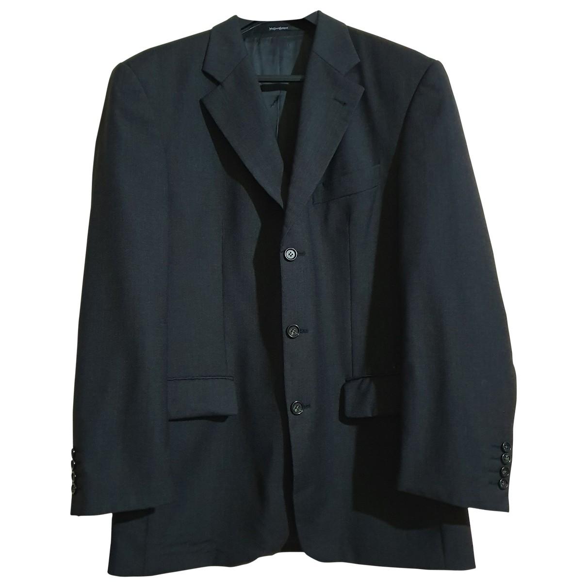 Yves Saint Laurent \N Grey Wool jacket  for Men XL International