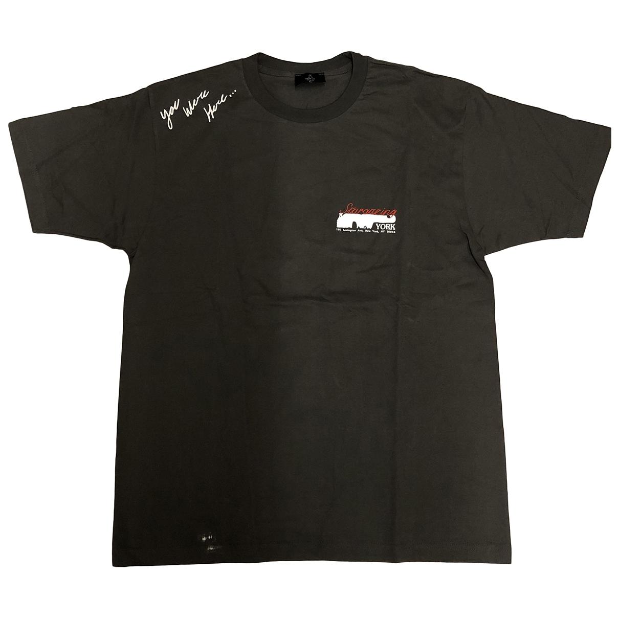 Travis Scott \N T-Shirts in  Anthrazit Baumwolle