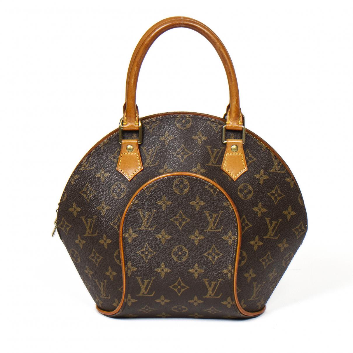 Louis Vuitton Ellipse Brown Cotton handbag for Women \N