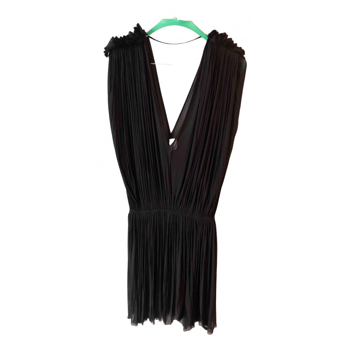 Mini vestido de Seda Hanne Bloch
