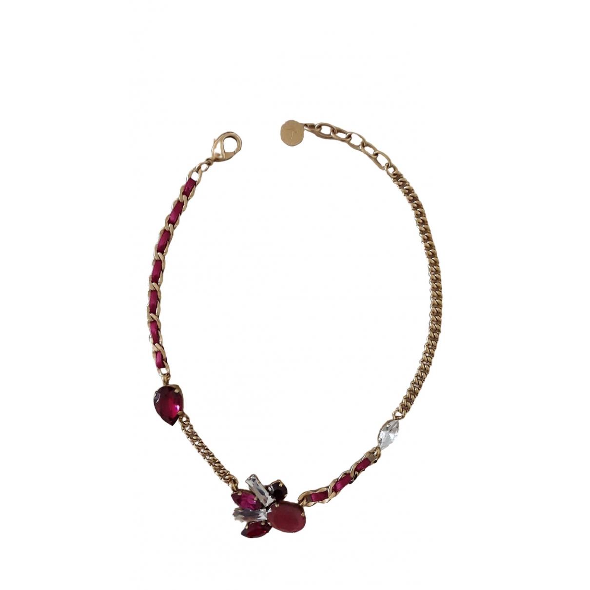 Reminiscence - Collier   pour femme en acier - rose