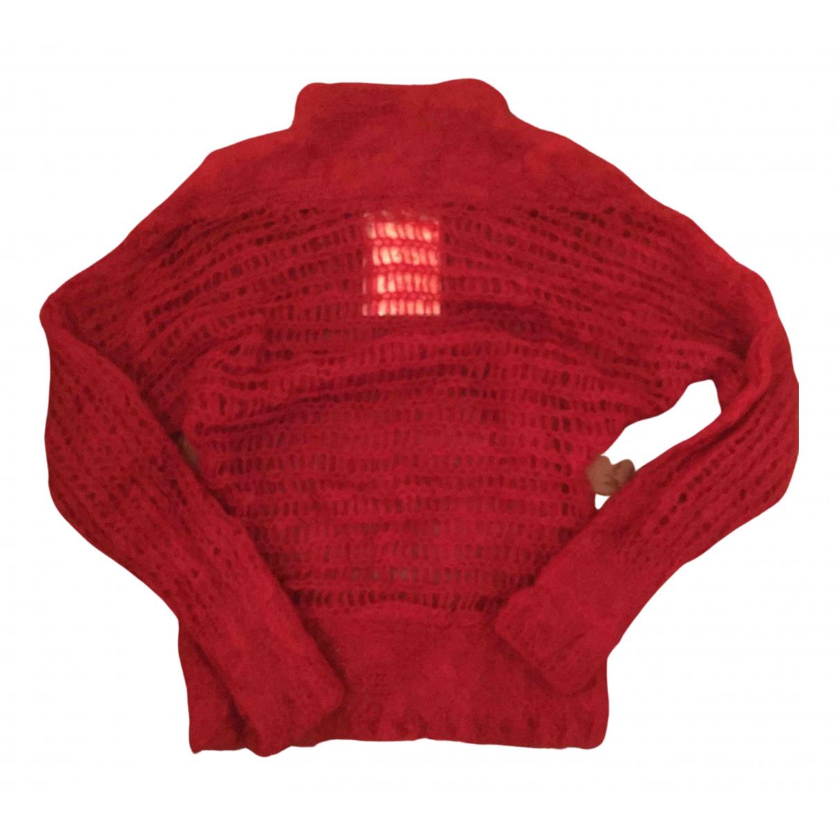 Acne Studios - Pull   pour femme en laine - rouge