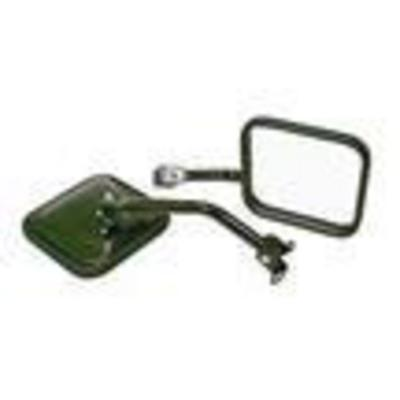 Rampage Side Mirrors (Black) - 7618