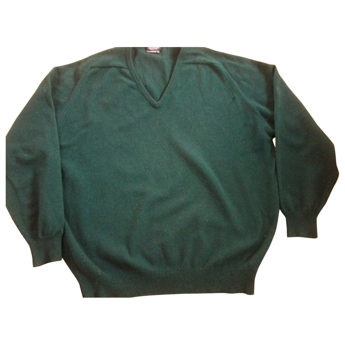 Non Signé / Unsigned \N Green Wool Knitwear & Sweatshirts for Men 52 FR