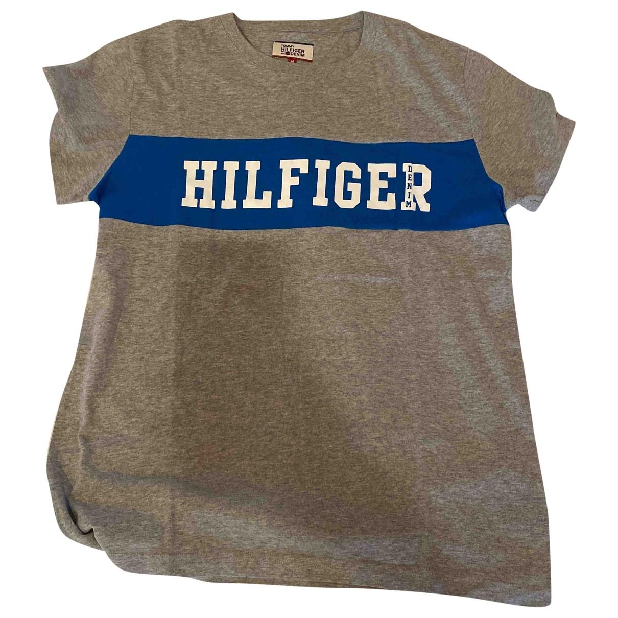 Tommy Hilfiger \N Grey Cotton T-shirts for Men M International