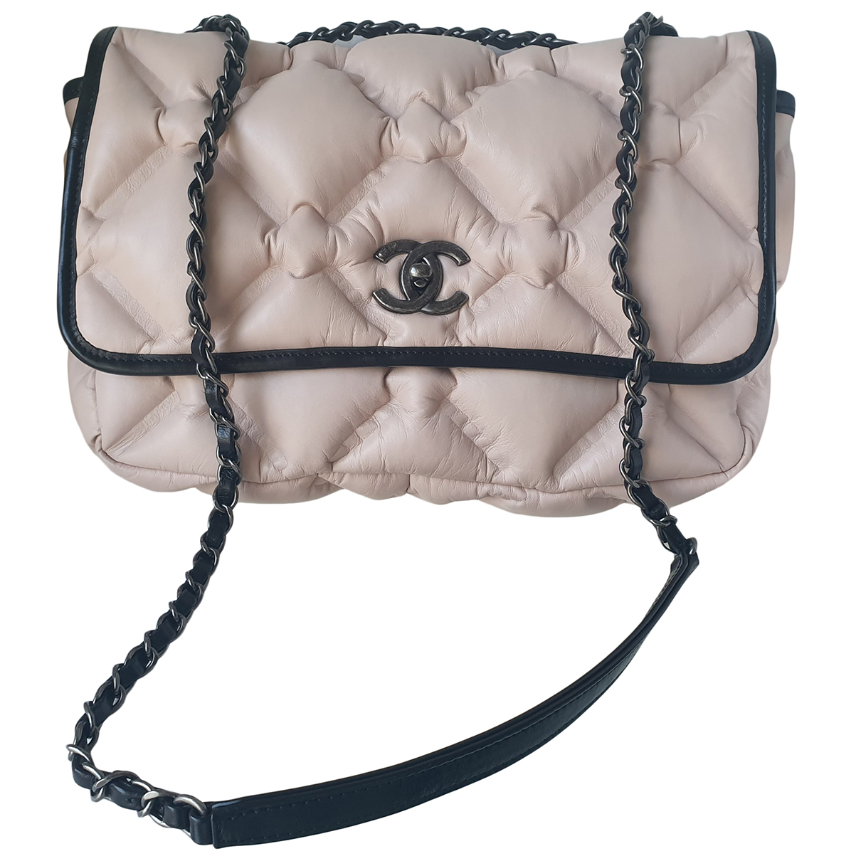 Chanel Timeless/Classique Pink Leather handbag for Women N