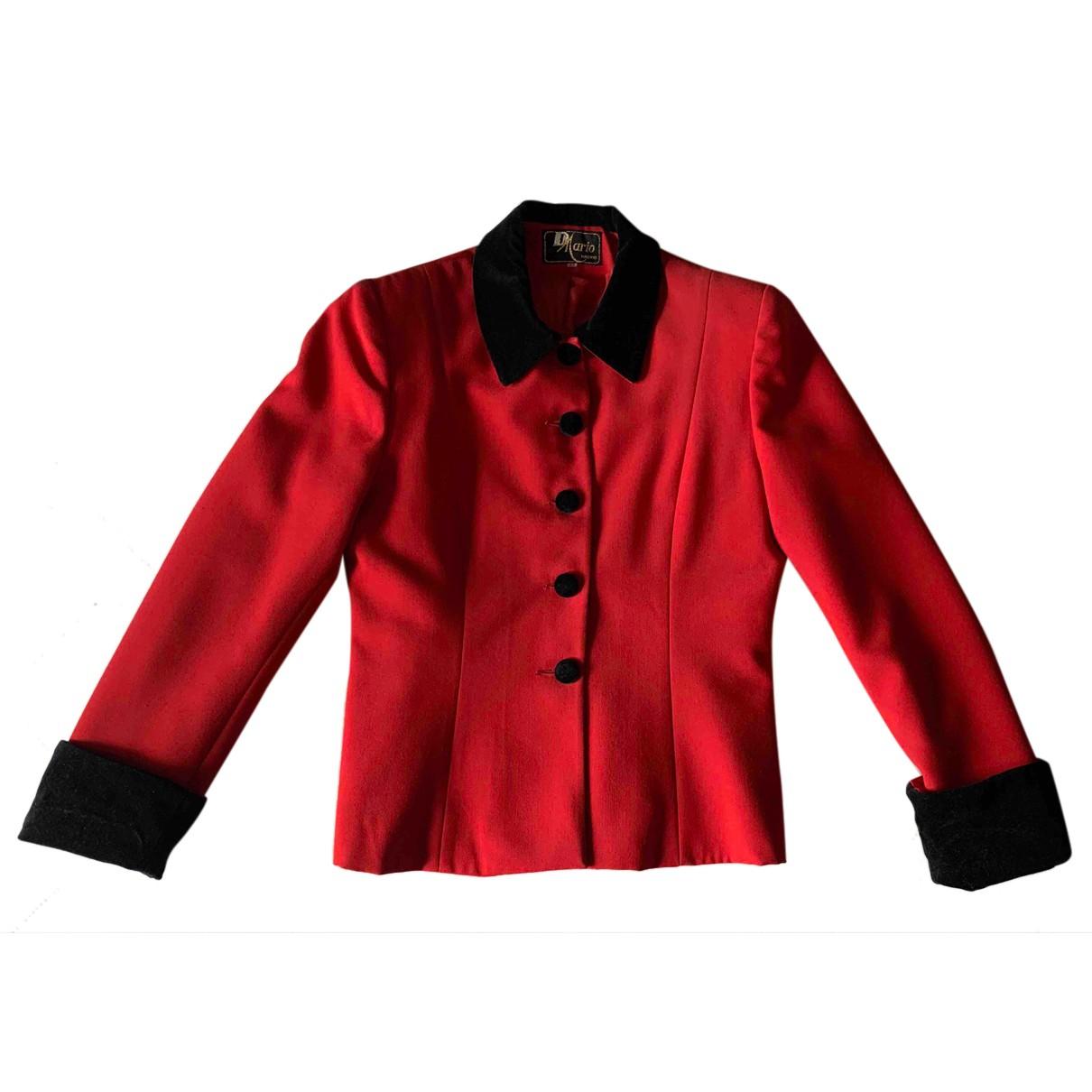 - Veste   pour femme - rouge