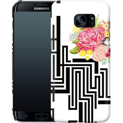 Samsung Galaxy S7 Edge Smartphone Huelle - Michi Garden von Khristian Howell