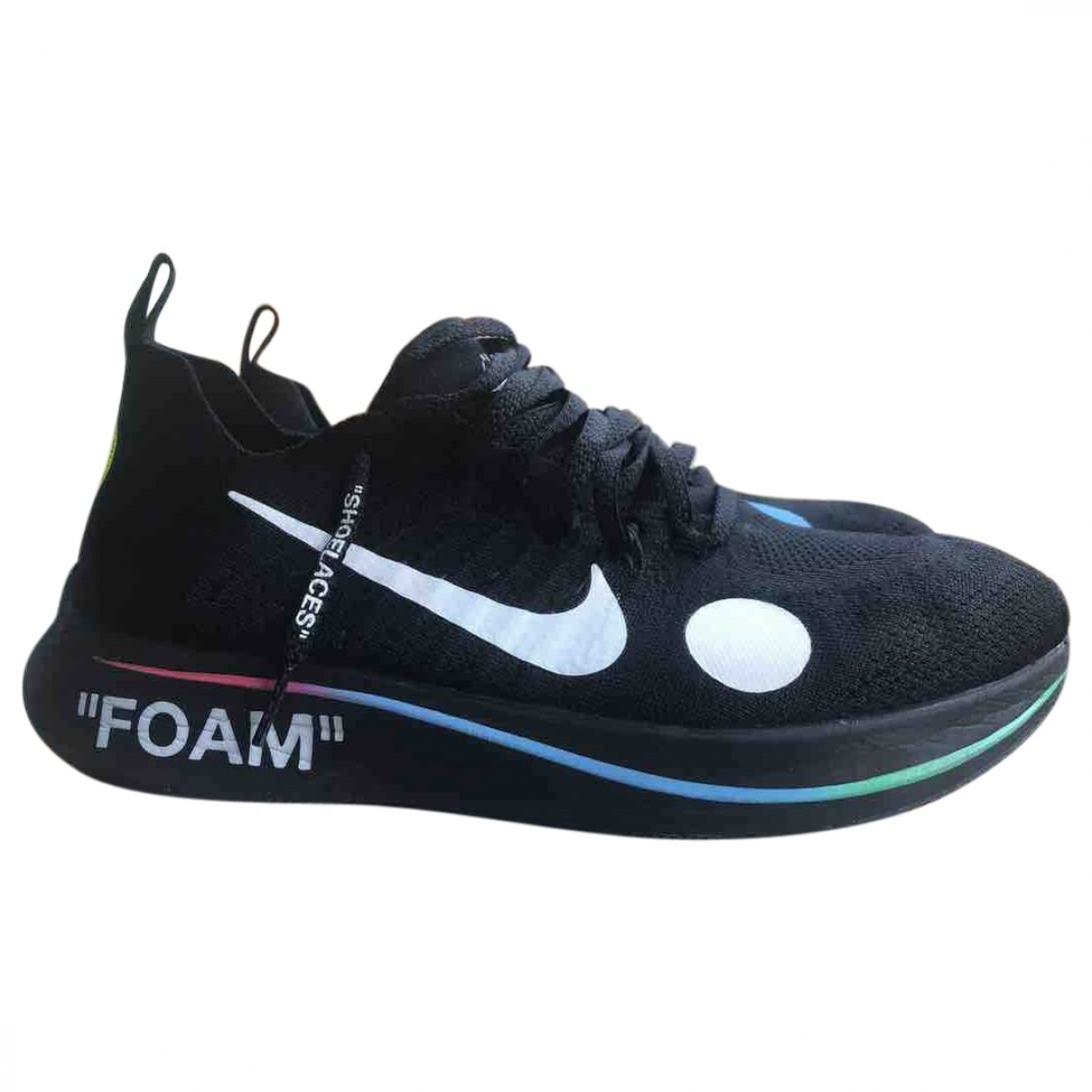 Nike X Off-white Zoom Fly Mercurial Black Cloth Trainers for Men 44 EU