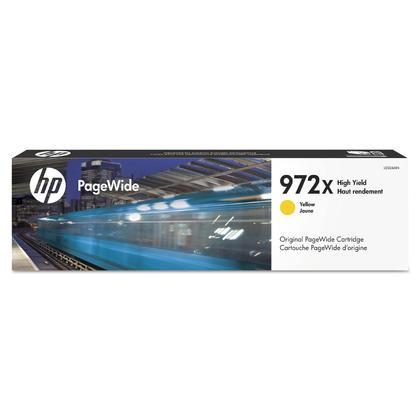 HP 972X L0S04AN cartouche d'encre PageWide originale jaune haute capacite