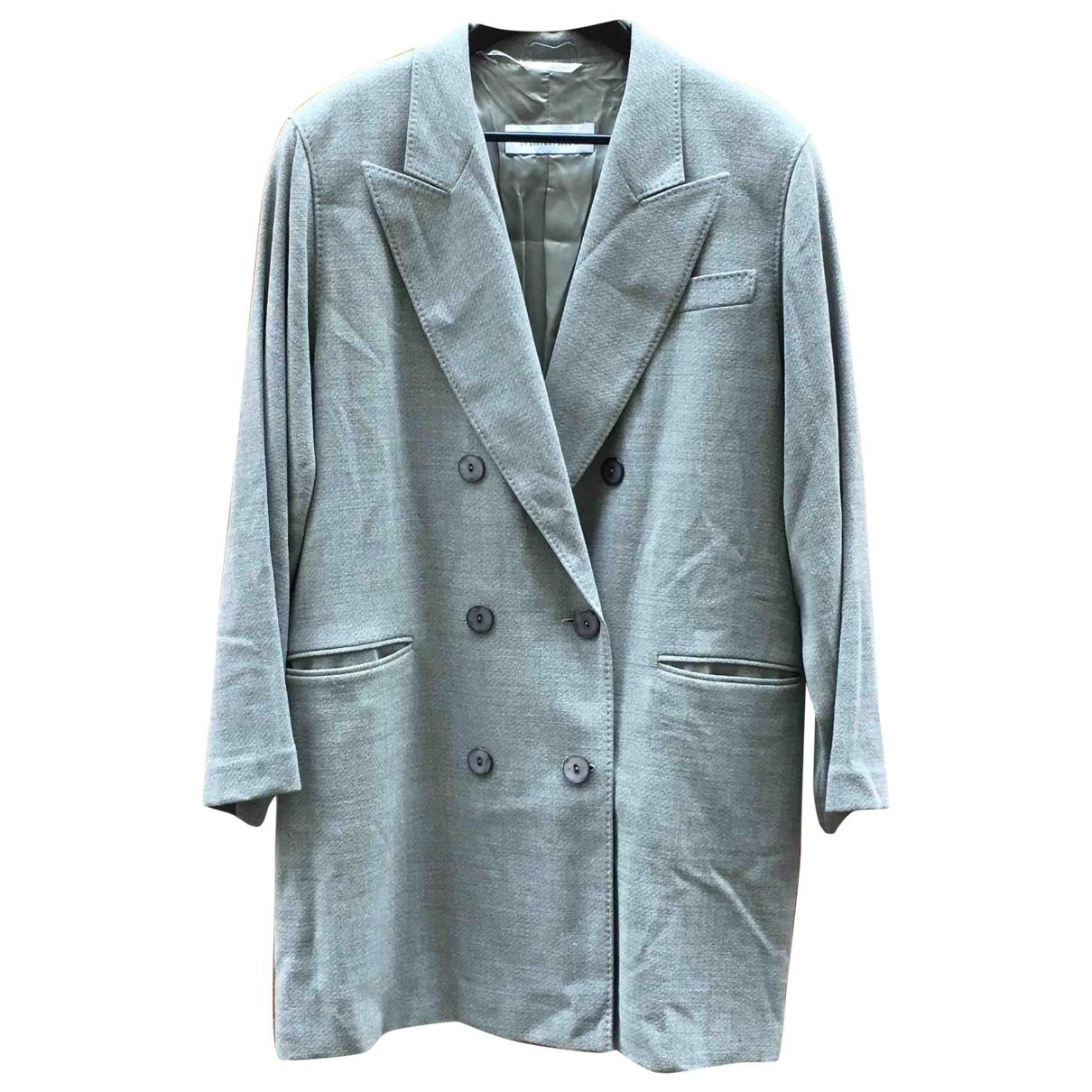 Max Mara Max Mara Atelier Grey Wool dress for Women 42 IT