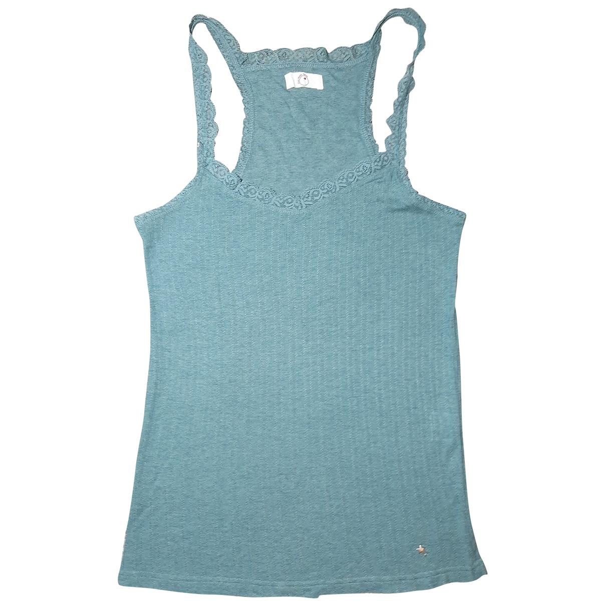 Des Petits Hauts - Top   pour femme en laine - vert