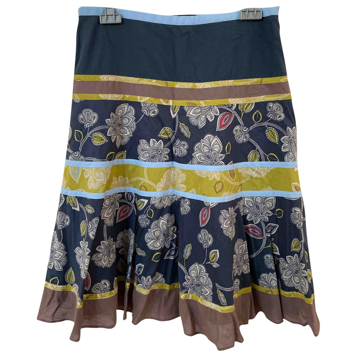 Bcbg Max Azria \N Multicolour Cotton skirt for Women One Size 0-5