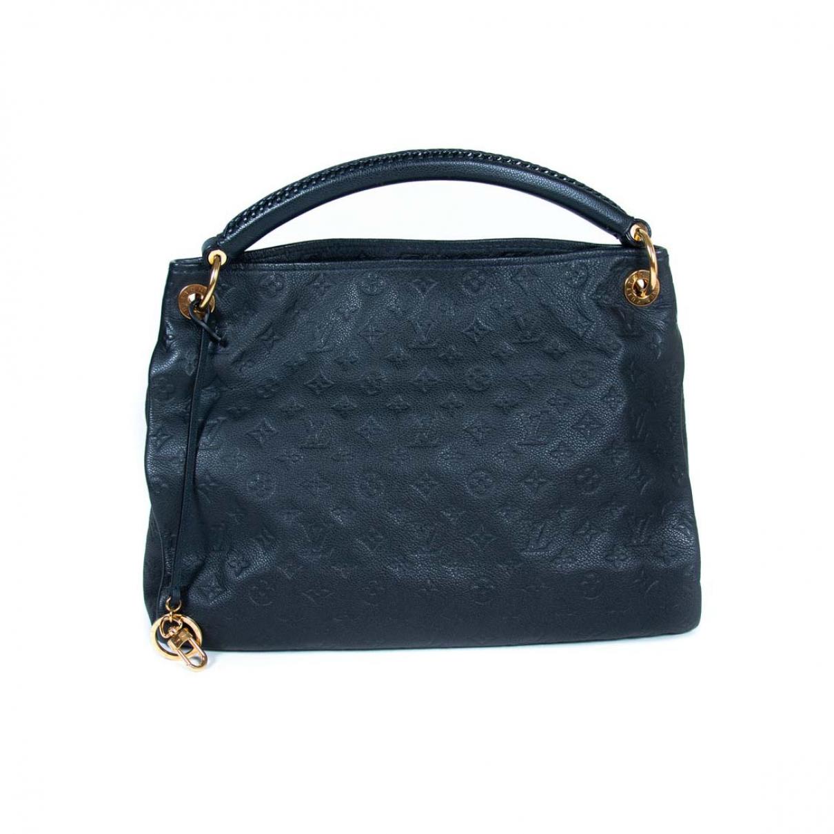 Louis Vuitton Artsy Navy Leather handbag for Women \N