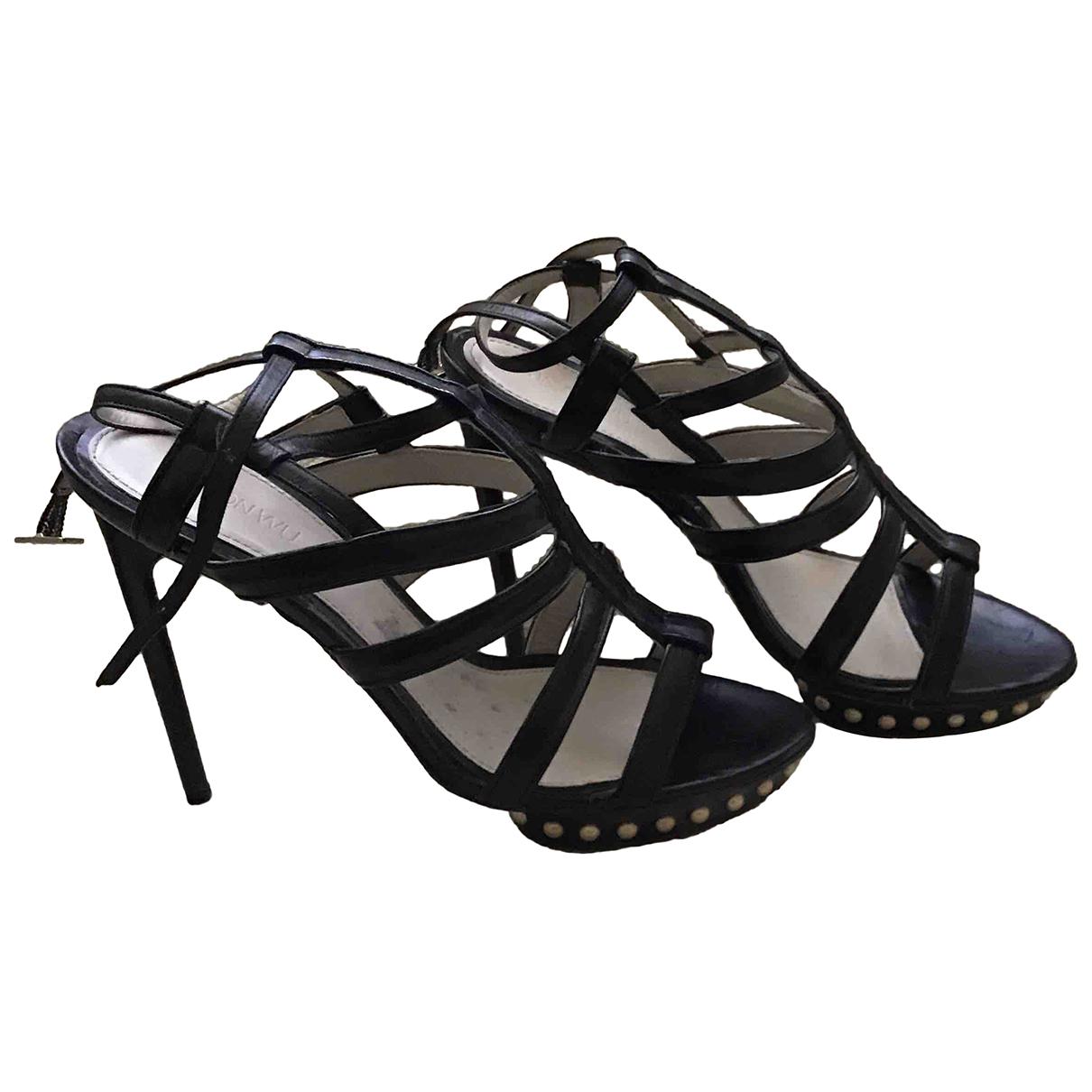 Jason Wu \N Black Leather Heels for Women 41 EU