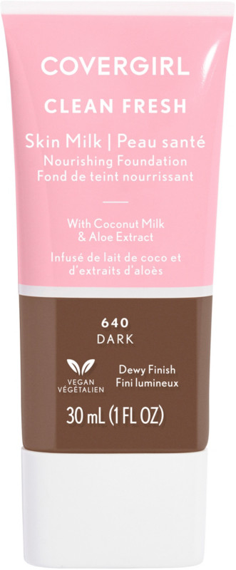 Clean Fresh Skin Milk Foundation - Dark 640