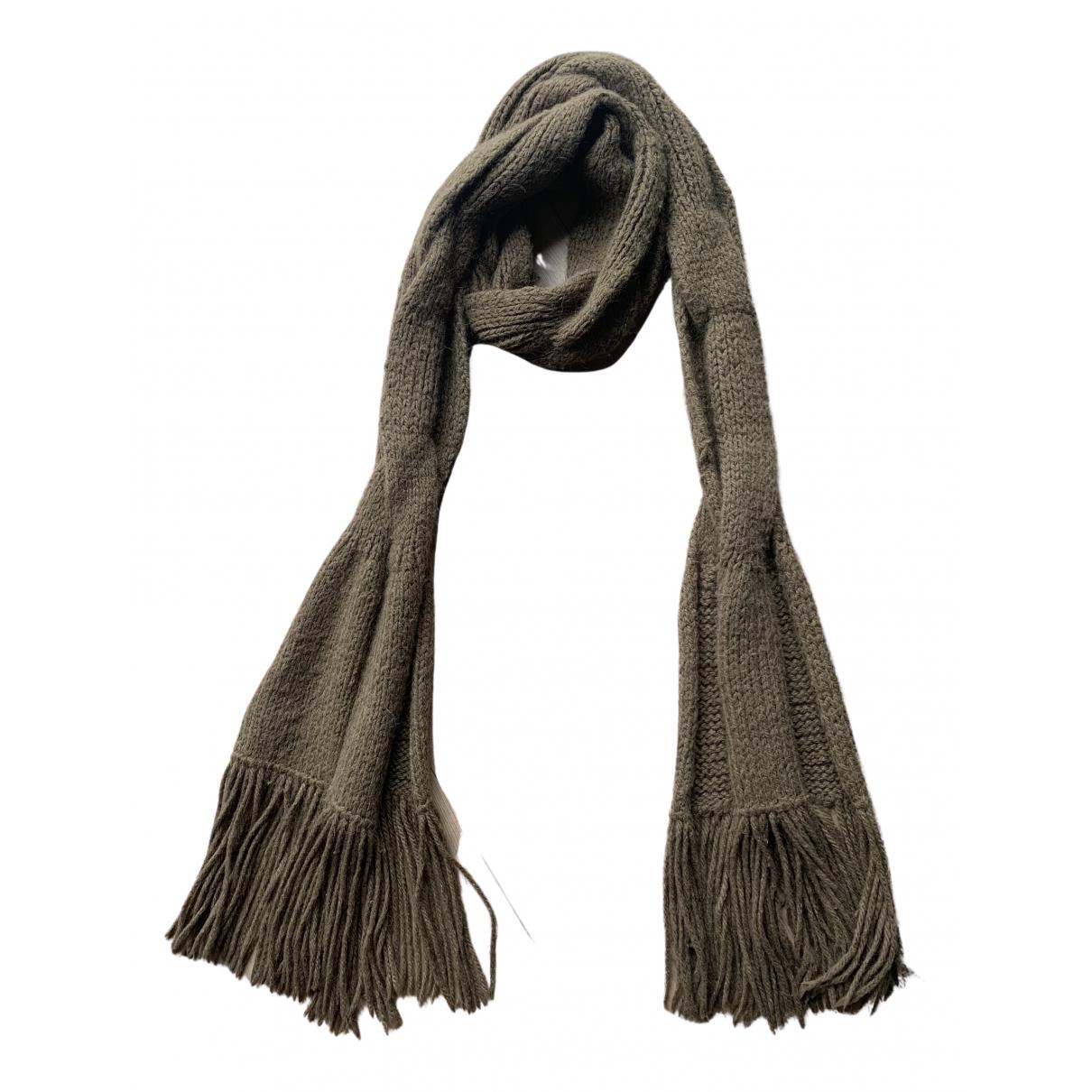Comptoir Des Cotonniers - Foulard   pour femme en laine - marron