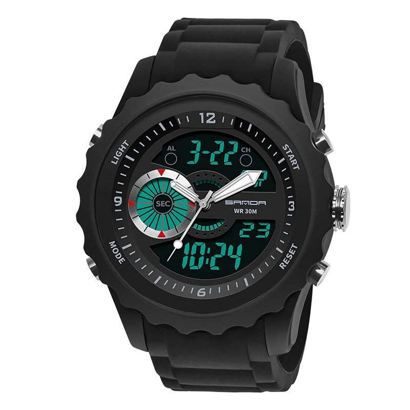 Casual Waterproof Digital Sport Watch Quartz Wrist Watch luminous Watch for Men