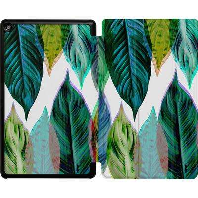 Amazon Fire HD 8 (2018) Tablet Smart Case - Green Leaves von Mareike Bohmer