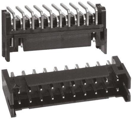 Hirose , DF11, 20 Way, 2 Row, Right Angle PCB Header (10)