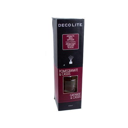 Diffuseur de Reed parfumé, pour l'aromathérapie, parfum d'ambiance de maison 100ml grenade et cassis