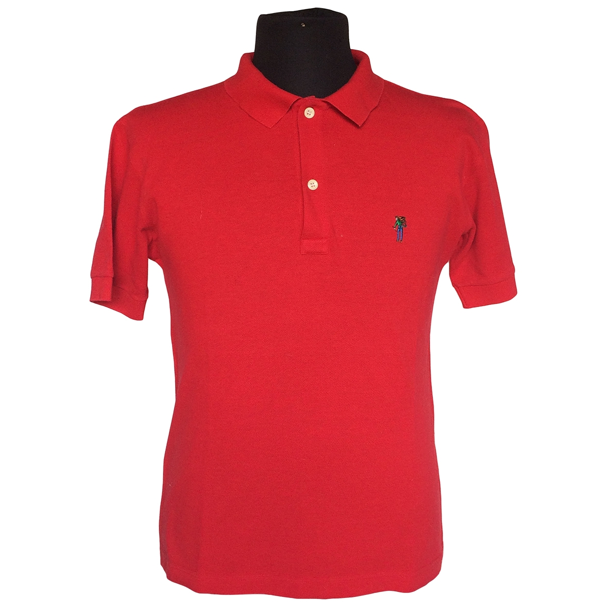 Levis \N Red Cotton Polo shirts for Men S International