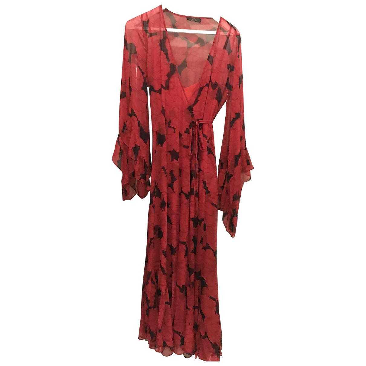 Maxi vestido de Seda De La Vali