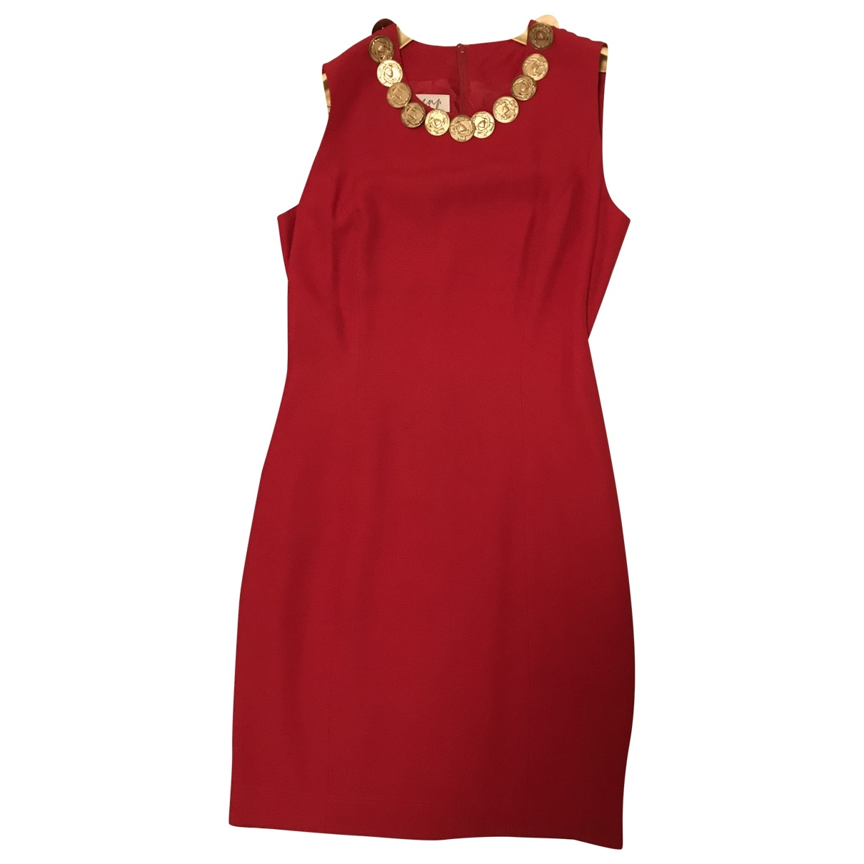Moschino Cheap And Chic \N Red Silk dress for Women 42 IT